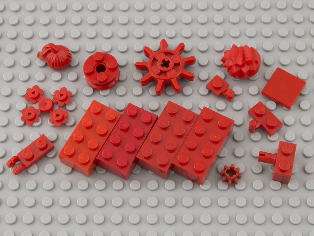 lego 21—Bright Red