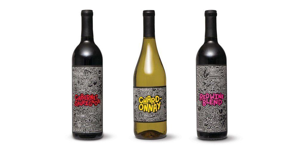 ALDI Timothy Goodman Wine Bottles