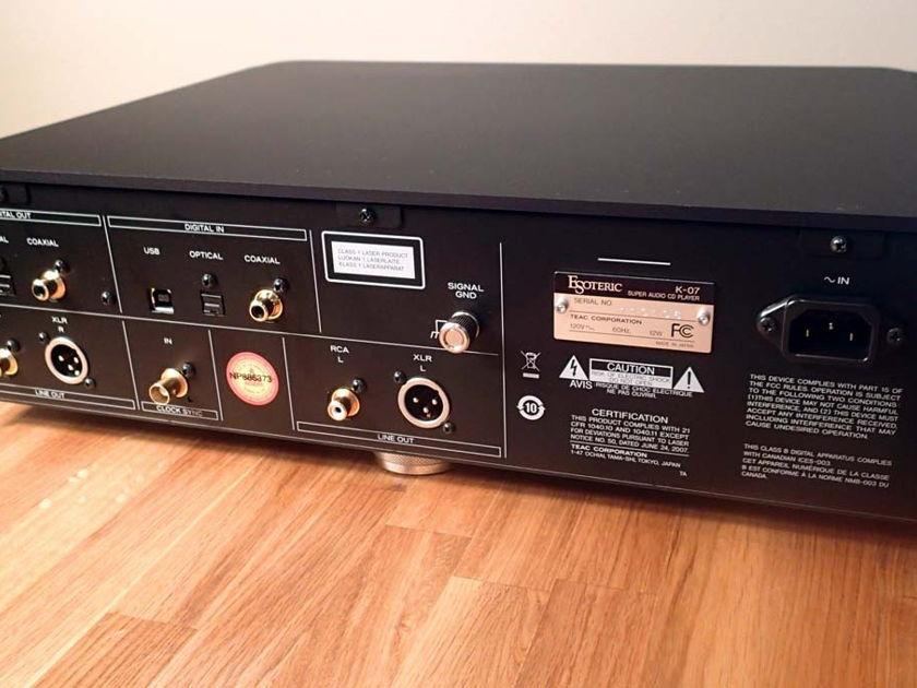 Esoteric K-07 SACD / CD player