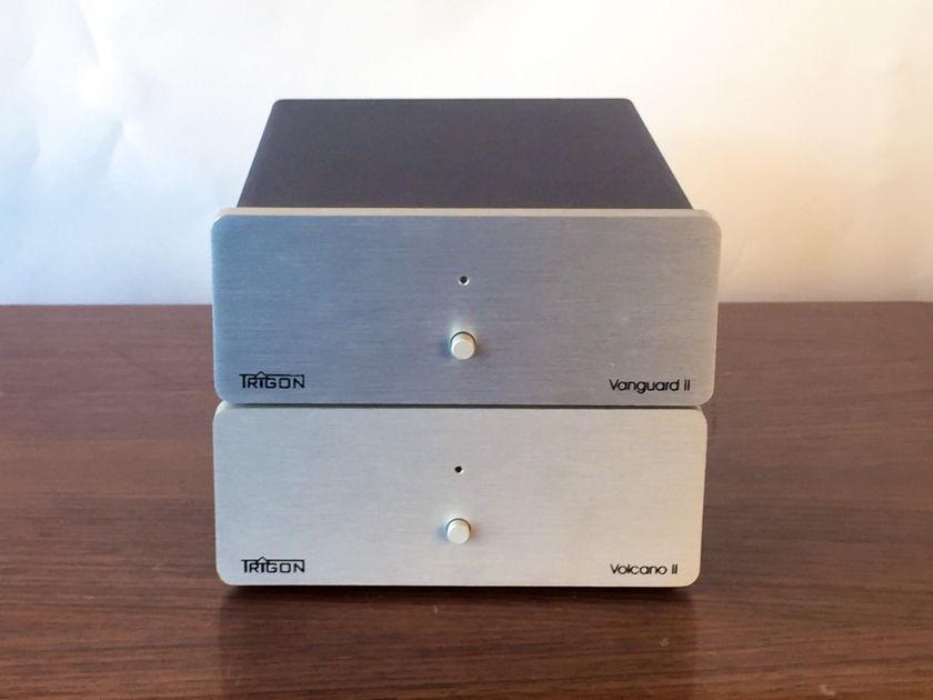 Trigon Audio Vanguard mkII and Volcano mkII