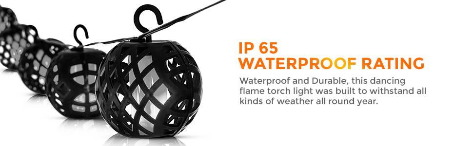 IP 65 Waterproof Rating