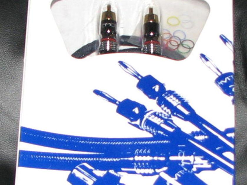 Emotiva Audio XRCA Cables  5 cables total