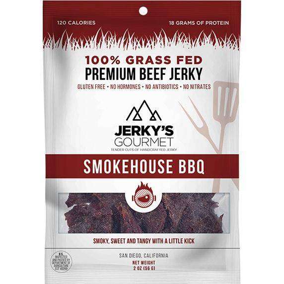 Jerky's Gourmet Smokehouse BBQ Grass-Fed Beef Jerky