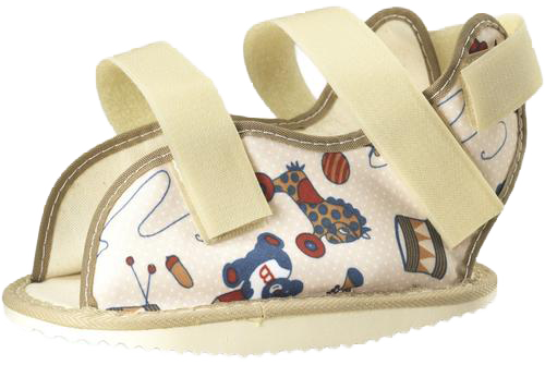 KIDSLINE CAST SHOE - PEDIATRIC PRINT