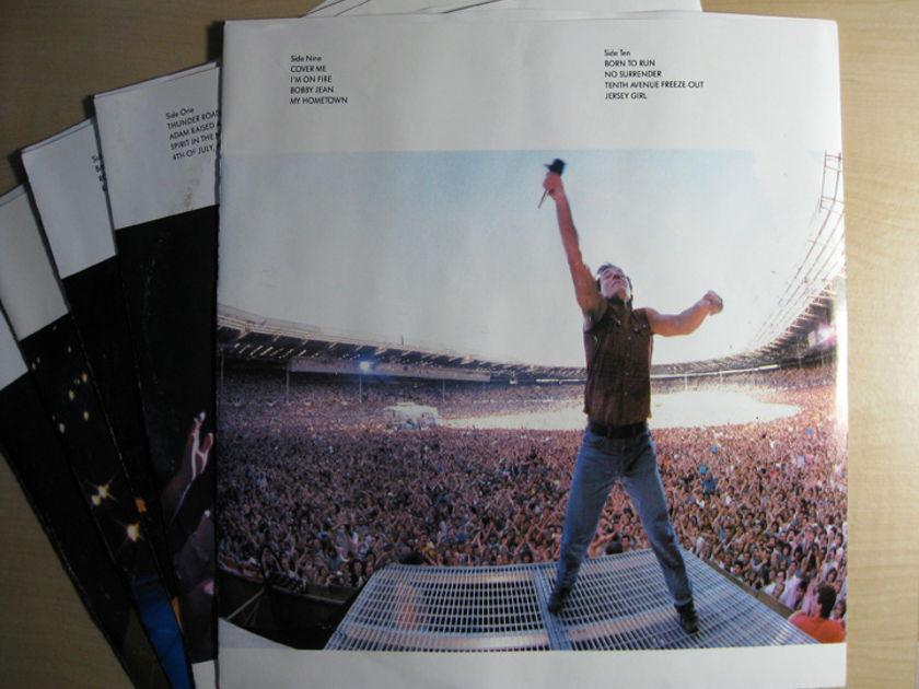 Bruce Springsteen & The E-Street Band - Live / 1975-85 x5 LP Box Set - 1986 Columbia C5X 40558