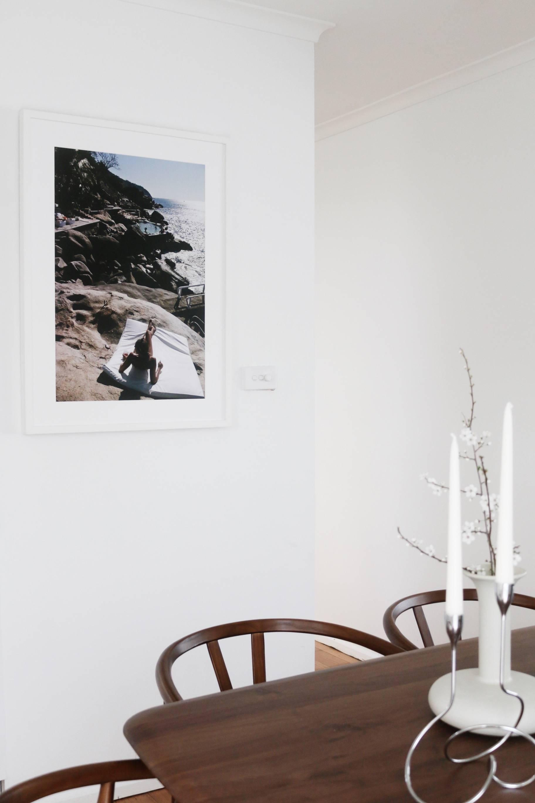 Las Brisas by Slim Aarons - Hanging in the dining room of Gemma Watts