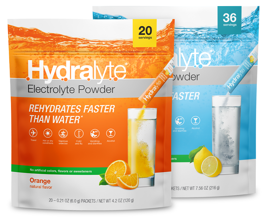 Hydralyte Electrolyte Powder Value Packs