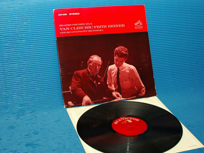 "BRAHMS / Reiner / Cliburn   - ""Piano Concerto No.2"" -  RCA 'White Dog' 1964"