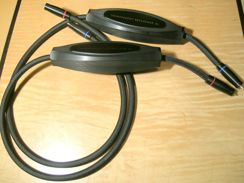 Transparent Audio Reference XL 1m RCA pair MM2 version