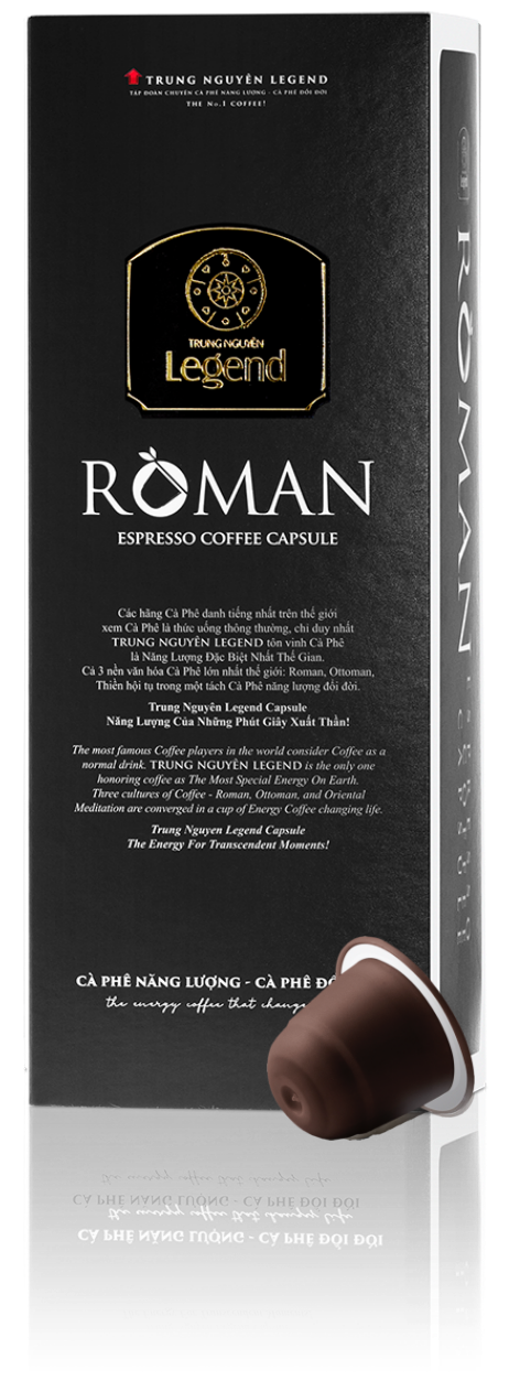 Italské espresso kapsle Roman