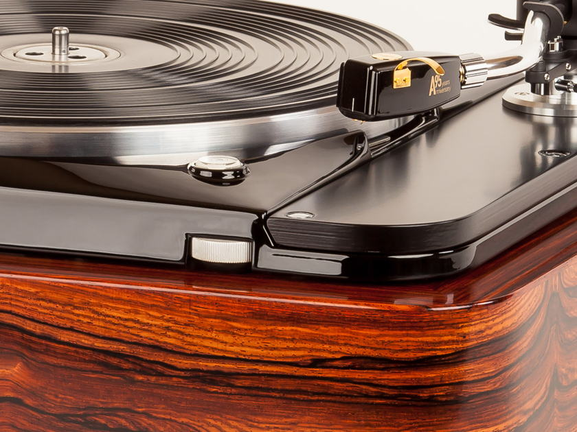 Thorens TD124 In Quartersawn Cocobolo by Woodsong Audio