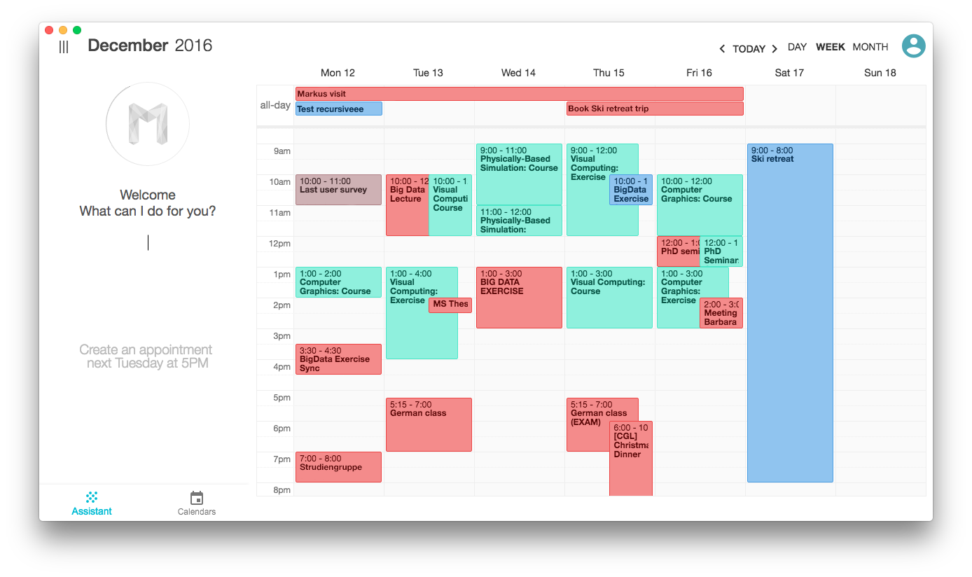 Google Calendar Vs Fantastical 2