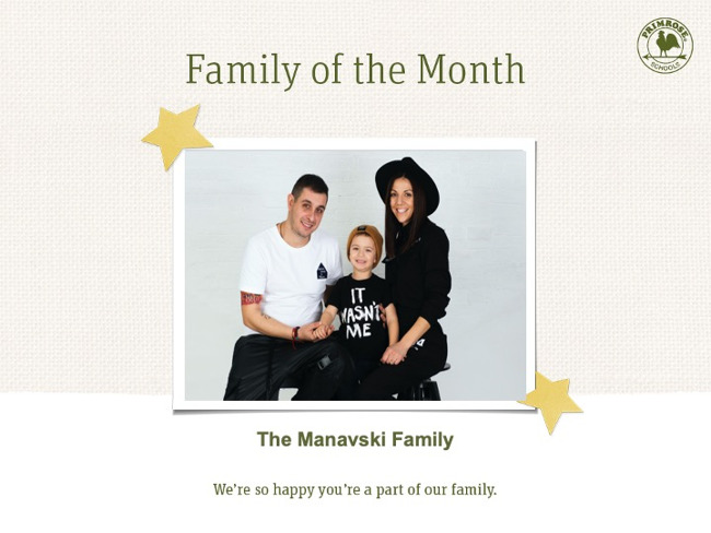 The Manavski Family