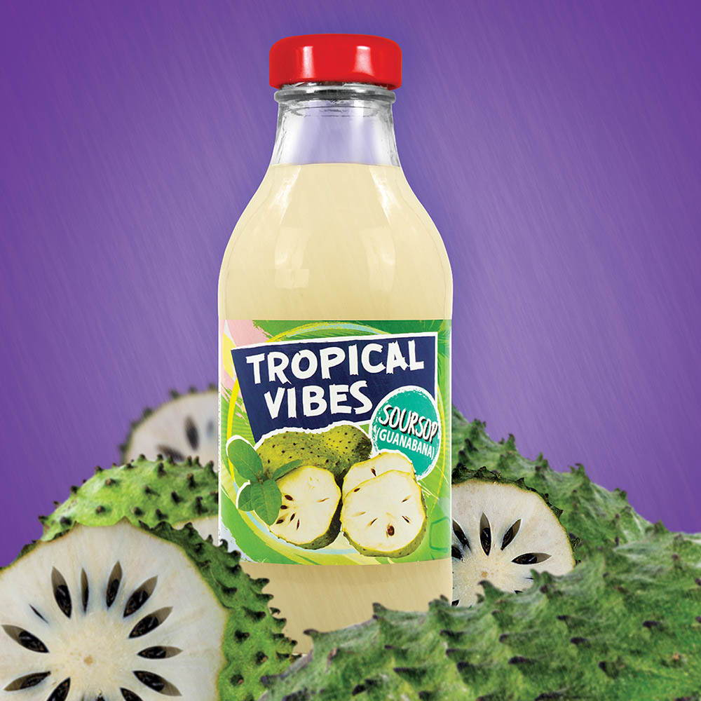 tropical vibes soursop drink