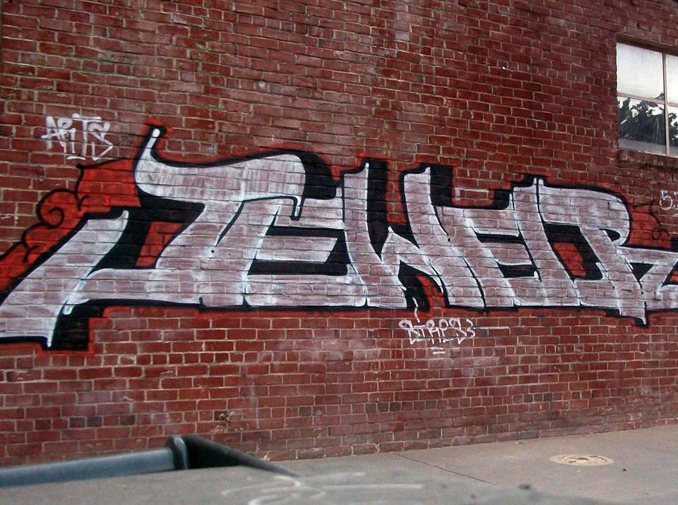 graffiti off brick stone