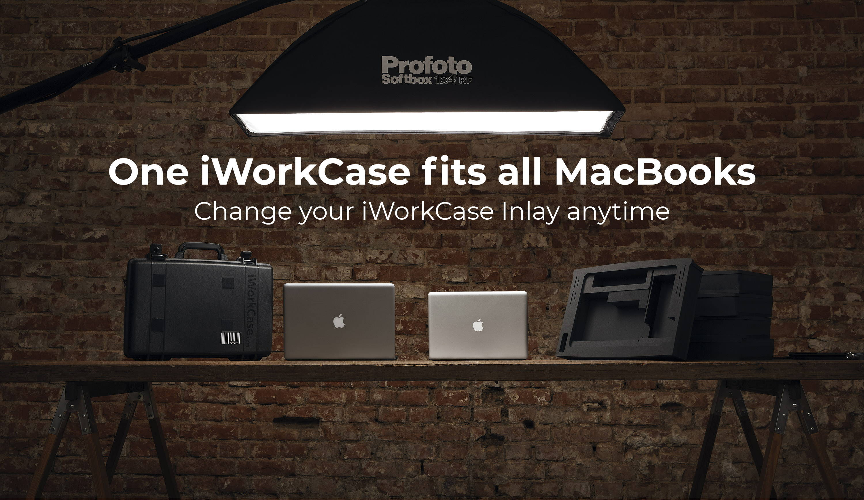 change your iworkcase inlays anytime