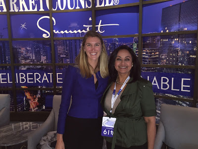 Christina Riley Eaves of Envestnet and Sheetal Brown of Fidelity.