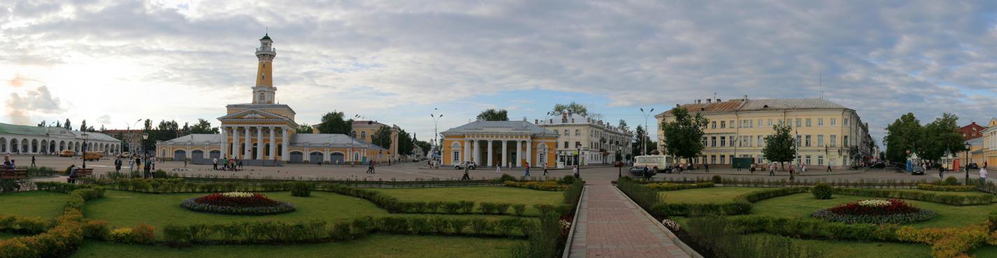 Прогулка по Костроме
