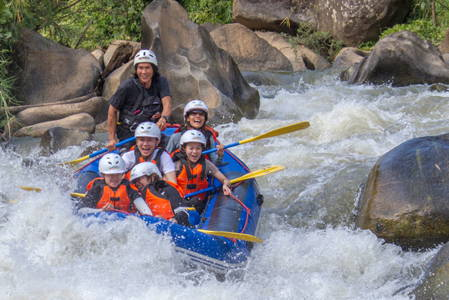 ATV Quad Bike & Whitewater Rafting in Chiang Mai