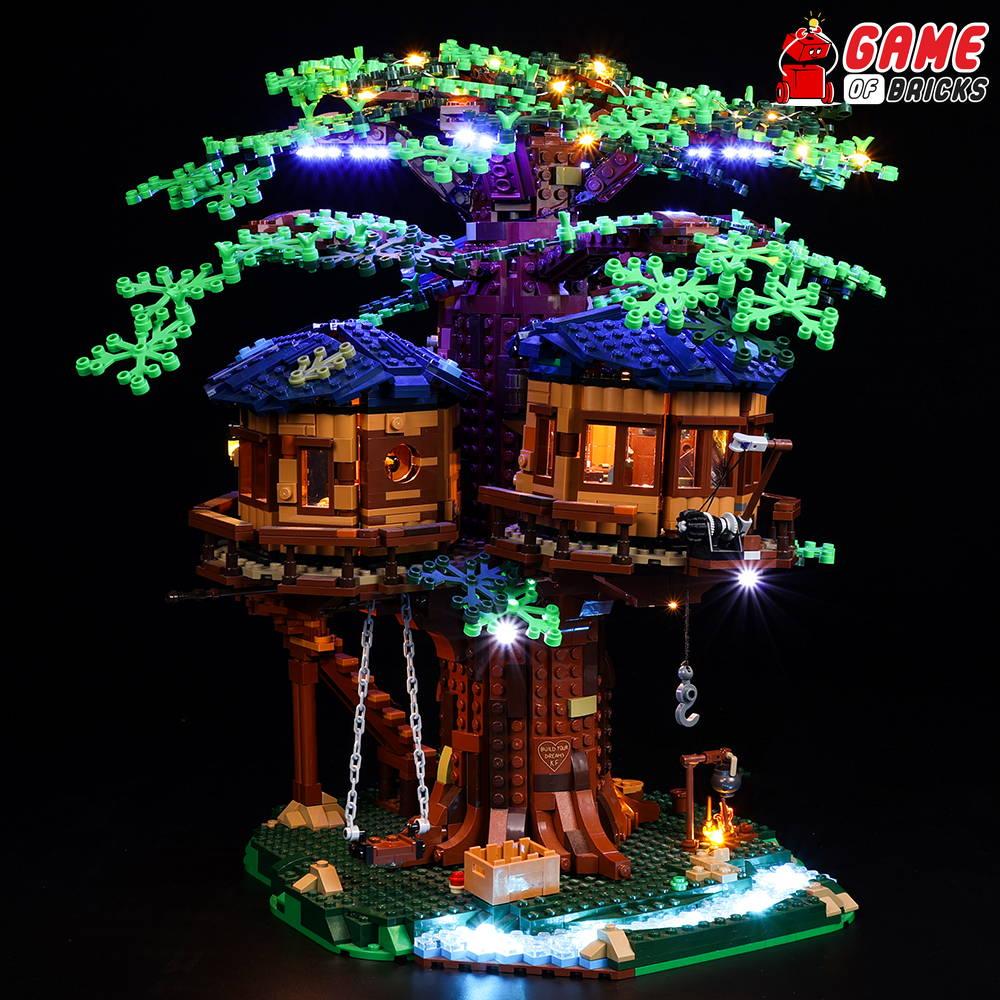Light Kit for Tree House 21318 (Updated)