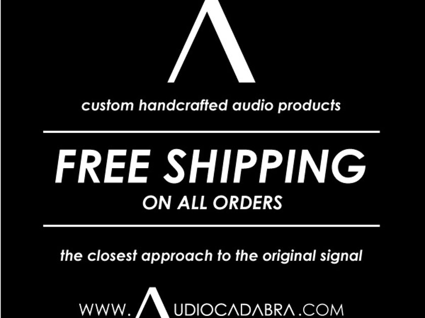 Audiocadabra™ Ultimus™ Solid-Core Silver Analog Cables (Pay Less For More!)