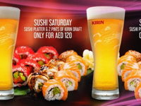 SUSHI SATURDAYS image