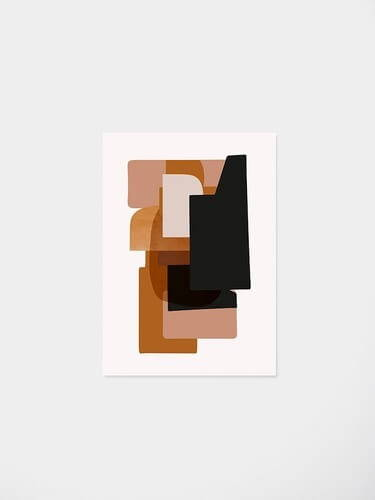 Ferm Living Abstraction 3 Poster