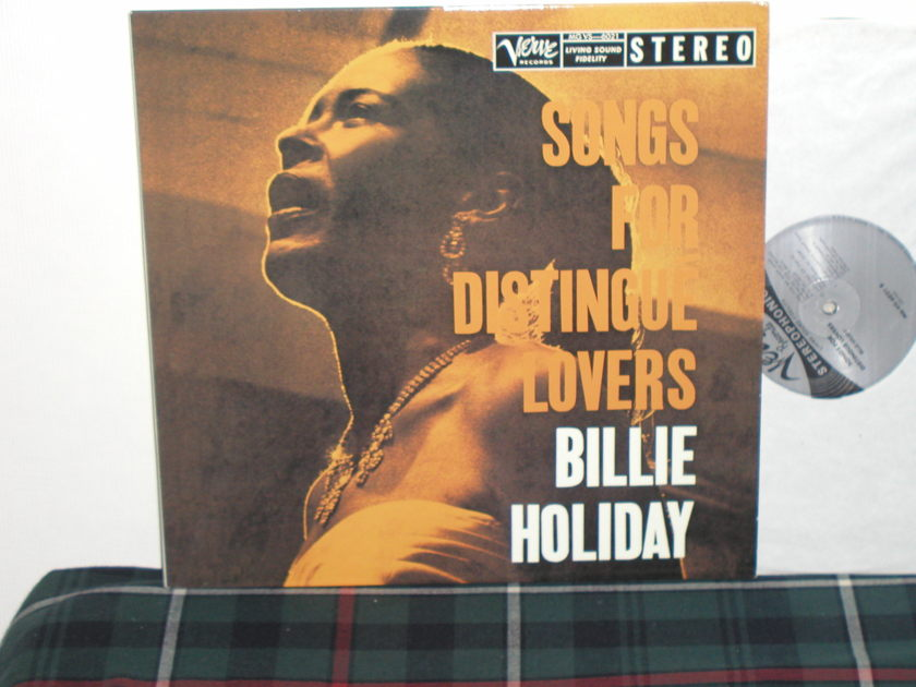 Billie Holiday - Songs for Distingue 180g 33 rpm Classic Recs
