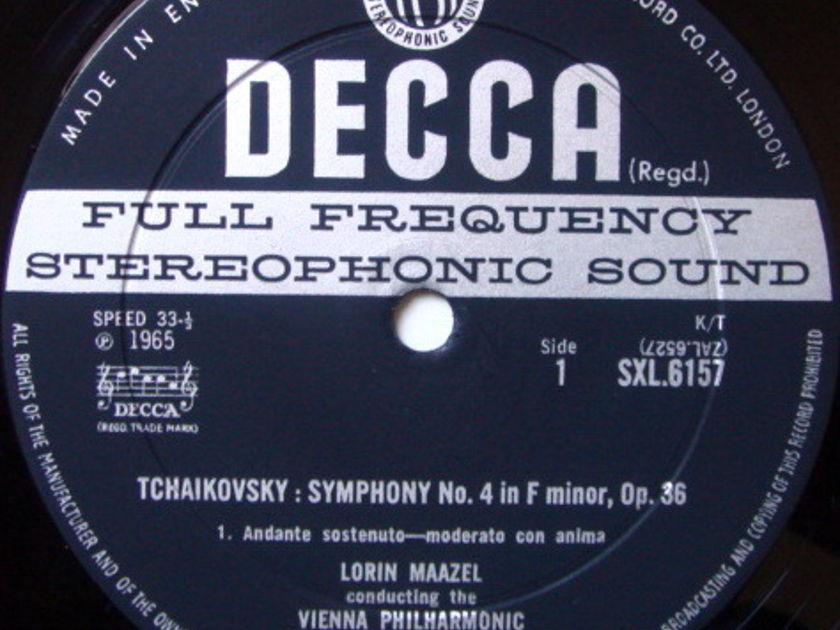 DECCA SXL-WB-ED2 / MAAZEL, - Tchaikovsky Symphony No.4, NM!