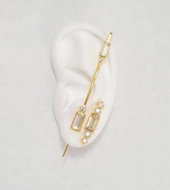 Ear Pin Earrings
