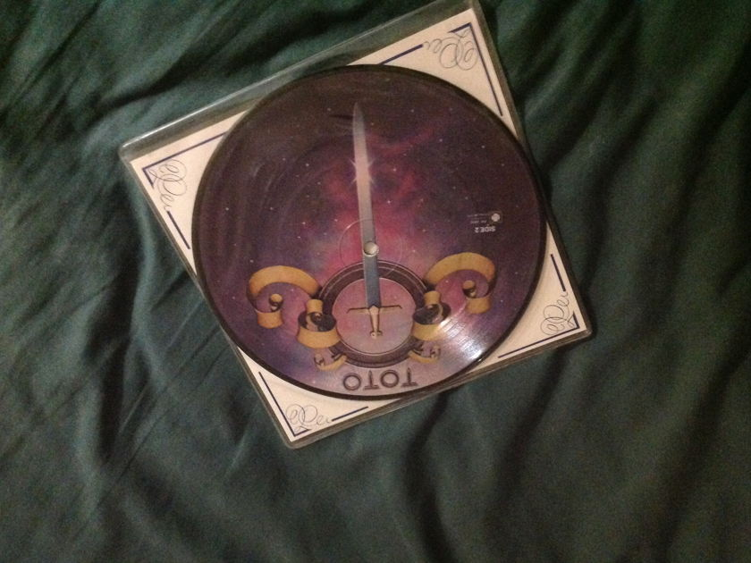 Toto - Hold The Line Rare Picture Disc 7 Inch