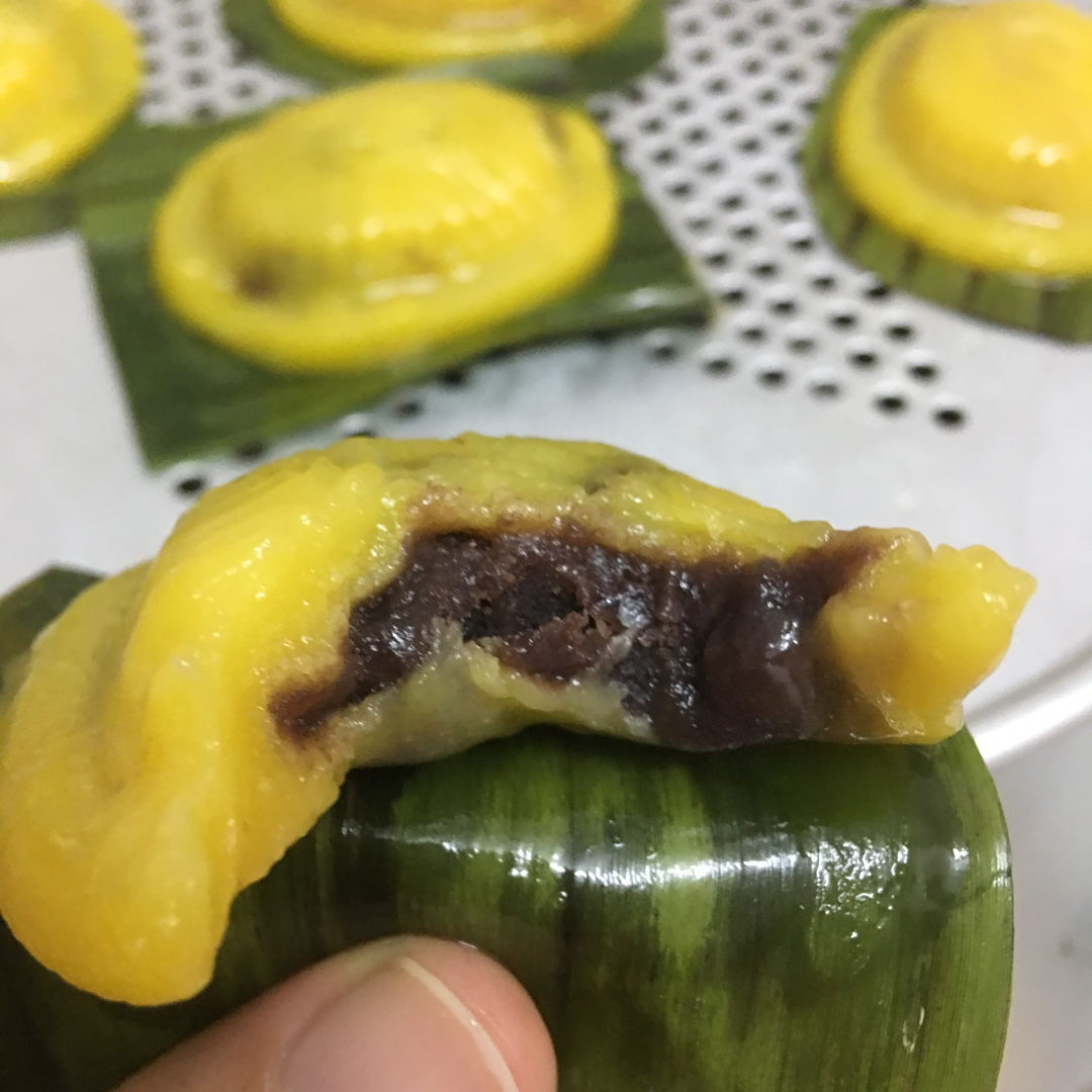 March 23rd, 20 - Ang gu kueh with red bean paste.