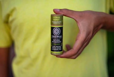 Natural Deodorant Stick - Citrus Burst