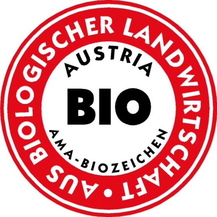 AMA-Biozeichen (rot/weiß)