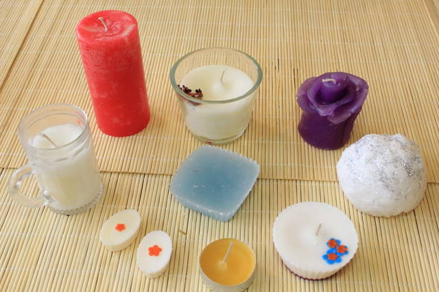 One day introductory course to candle making