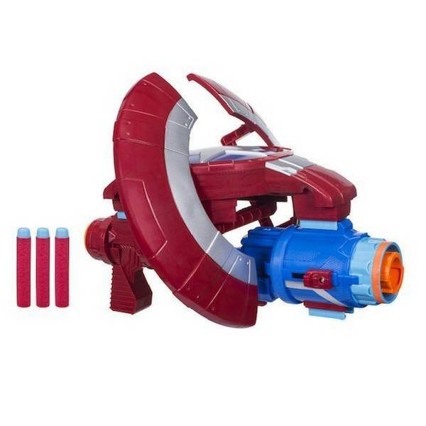 Avengers Infinity War: Nerf Captain America Assembler Gear By Hasbro - free shipping across India