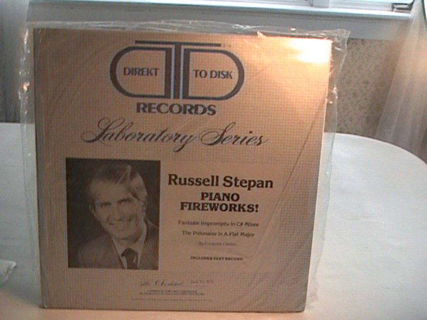 Russell Stepan Piano Works - Direkt to Disk Records Laboratory Series - Sealed No. 01