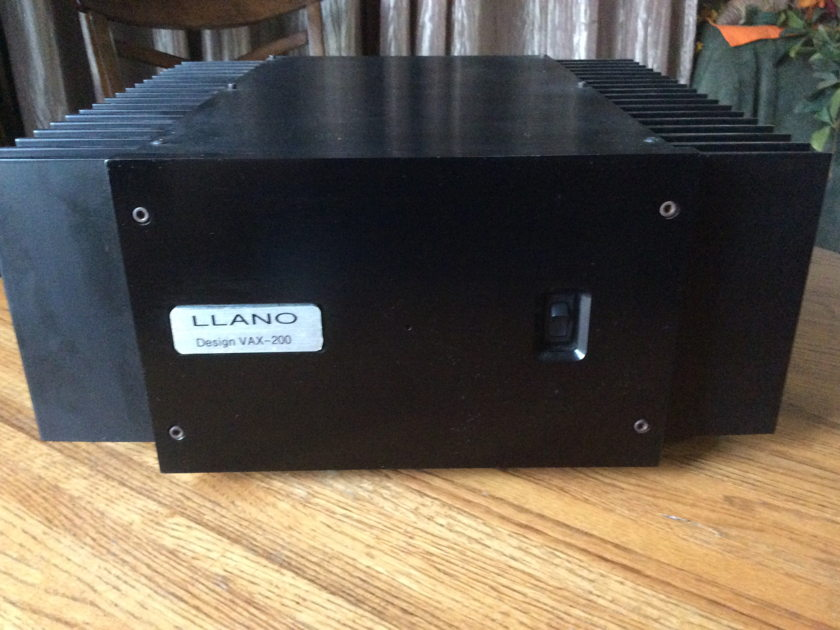 Llanno Designs VAX-200 200 Watt Stereo Amplifier