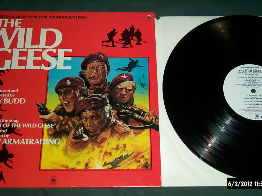 The Wild Geese - Soundtrack White Label Promo  LP NM