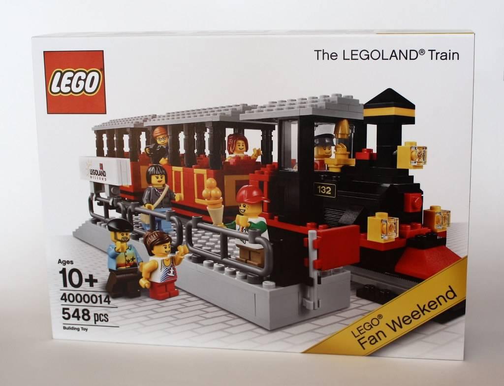 The LEGOland Train (LEGO Fan Weekend Exclusive Edition)