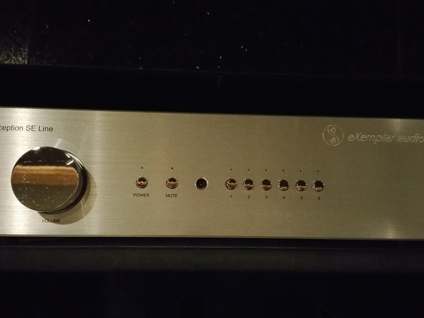 Exemplar Audio eXception SE Line Stage Preamp
