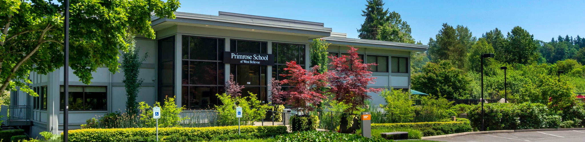 exterior of Primrose School of West Bellevue
