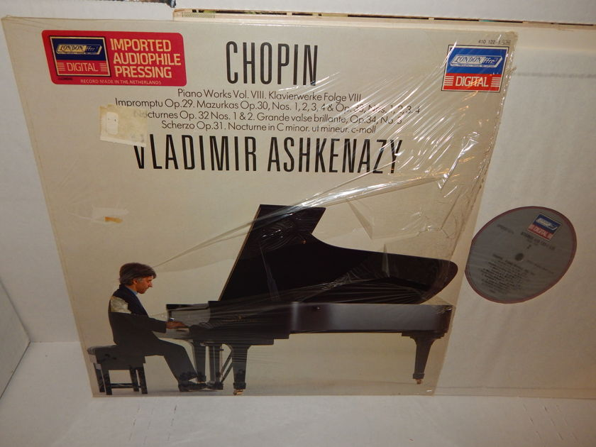 CHOPIN VLADIMIR ASHKENAZY - Piano Works Vol. VIII Holland Import London ffrr Audiophile Pressing Mint LP