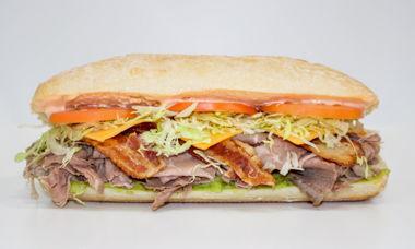 Big Star Sandwich Roast Beef,Bacon,Cheddar,Guacamole