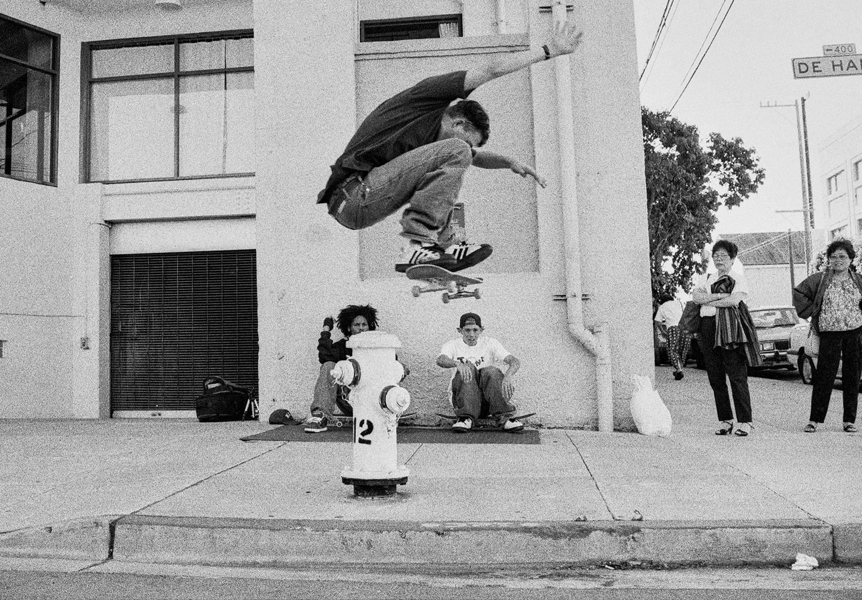 Pete Thompson e il libro sullo skateboard anni 90