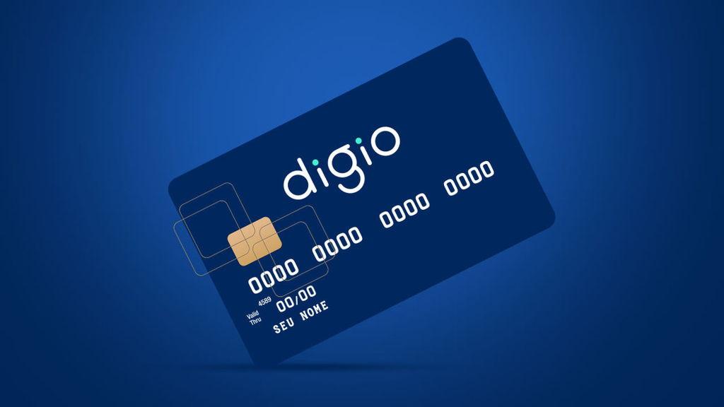 Bandeira do cartão de crédito Digio