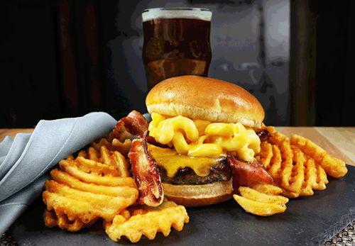 Mac n' Cheese Burger
