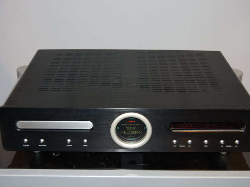 Audio Philosophy  CD Player Demo