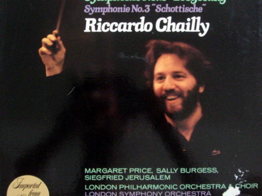 Philips /CHAILLY, - Mendelssohn Symphonies No.2 & 3, MINT, 2LP Promo Box Set!