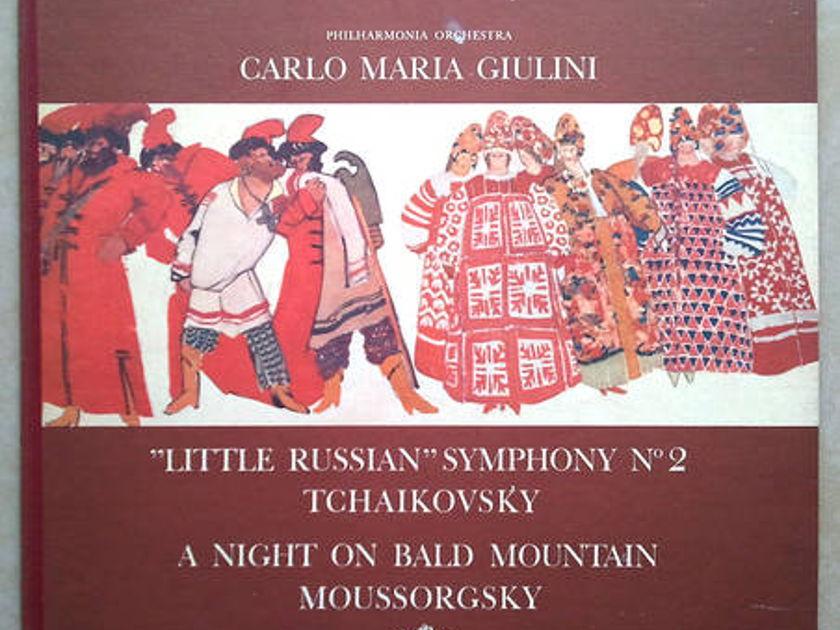 Angel (blue label)/Giulini/Tchaikovsky - Symphony No.2, Moussorgsky: A Night on Bald Mountain / NM